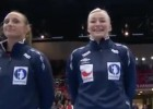 Debía sonar el himno noruego... y lo hizo el Gagnam Style