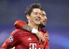 Doblete de Lewandowski en el trámite del Bayern en Zagreb