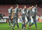 Goleada del Nápoles que hace historia en la Europa League