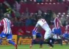 ¿Hubo pena máxima de Luis Hernández a Llorente en el 1-0?