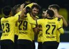 El Dortmund golea y recorta distancias con el Bayern