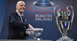 Roma-Madrid, PSV-Atlético y Arsenal-Barça, los cruces