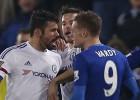 La furibunda reacción de Diego Costa: quiso comerse a Vardy