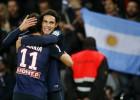 Cavani rescata al PSG con un gol en los instantes finales