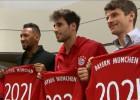 Cuatro compañeros de Vidal renovaron contrato con Bayern