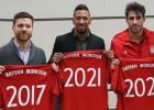 Xabi Alonso renueva con el Bayern hasta 2017