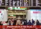 Hinchas del River despiden entre insultos a Mascherano