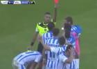 La tontería del año en Italia: gol y expulsión en 10 segundos