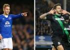 Deulofeu y Joselu: goles 'made in Spain' en el Everton-Stoke