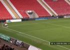 El gol olímpico del canterano más prometedor del United