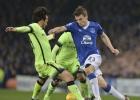 El Everton golpea primero y gana 2-1 al City en la ida