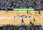 Hayward y Johnson pueden con los Heat de Chris Bosh