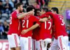 Hat-trick de Jonás y triunfo del Benfica en el partido aplazado