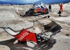 Así fue el accidente de Loeb que le deja sin Dakar