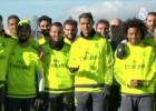 La plantilla felicitó a Ramos, Modric, Cristiano y Marcelo