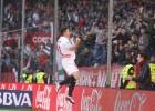 Gameiro no reduce y liquida al Málaga en un minuto