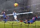 Agüero pasó del hat-trick y le puso el balón perfecto a Silva