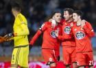 El Deportivo salva un punto en Anoeta ante una buena Real