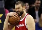 Marc Gasol (37) desata su furia ante los Knicks