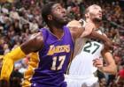 Rudy Gobert (18+18) lidera la paliza sin piedad a los Lakers