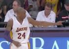 Kobe es el segundo 'Laker' con más asistencias de la historia