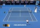Federer le `rompió la cintura´ a Basilashvili con este derechazo