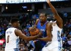 Durant y Westbrook deciden el duelo ante los Nuggets