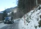 AS prueba un tramo del circuito del Rally de Montecarlo
