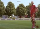 La increíble transformación de Arjen Robben en 'Ironman'