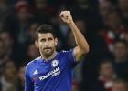 Costa da el triunfo al Chelsea ante un Arsenal con 10