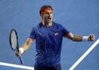 Ferrer sigue imparable y se medirá en cuartos a Murray