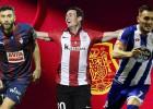 Los delanteros que llaman a `La Roja´: Lucas, Borja y Aduriz