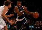 Un brutal Durant (44) acaba con los Knicks y su rebeldía