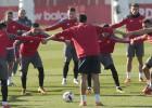 Emery se lleva a 19 jugadores para la vuelta ante el Mirandés