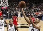 Los Spurs se redimen de la paliza arrasando a los Rockets