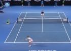 La leyenda de Federer: ¡Qué passing le clavó a Nole!