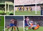 De Cruyff a Godín: los 10 goles insuperables del Barça-Atleti