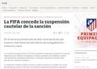 Atlético y Madrid reciben la cautelar por el 'caso menores'