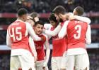 Un gran Alexis proyecta al Arsenal hacia octavos de final