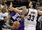 Marc gana a DeMarcus y los Grizzlies a los Kings