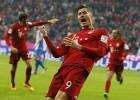 Lewandowski suma y sigue y hace un doblete al Hoffenheim