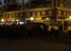 La afición del Valencia criticó a los jugadores tras el partido