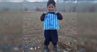 El pequeño 'Messi afgano' puede que conozca a su ídolo