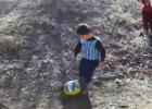 Así es Murtaza Ahmadi, el niño afgano que idolatra a Messi