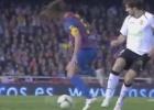 La doble ruleta de Puyol ante el Valencia que ni Zidane hizo