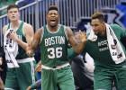 Los Celtics ganan y adelantan a los Chicago Bulls