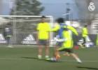 Marcelo se gustó en la cara de Modric: vaya dos taconazos