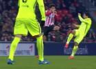La plancha de Etxeita a Suárez mereció un partido de sanción
