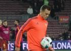 Cheryshev disfruta la Copa: así calentó en el Camp Nou