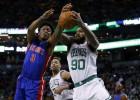 Thomas y Bradley lideran el triunfo celtic sobre los Pistons